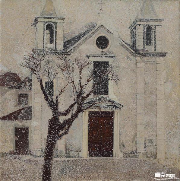 老树-教堂
